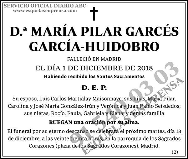 María Pilar Garcés García-Huidobro